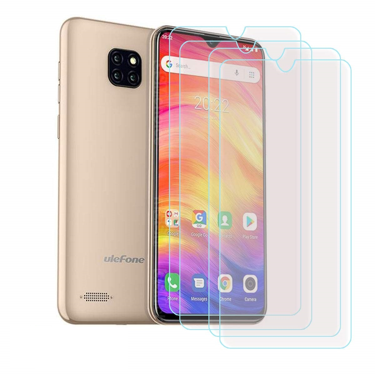 Купить 2 шт закаленное стекло Ulefone Примечание 7/S11 защитное стекло на экран телефона flim Экран защитный кожух для Ulefone Примечание 7 смартфон на Алиэкспресс
