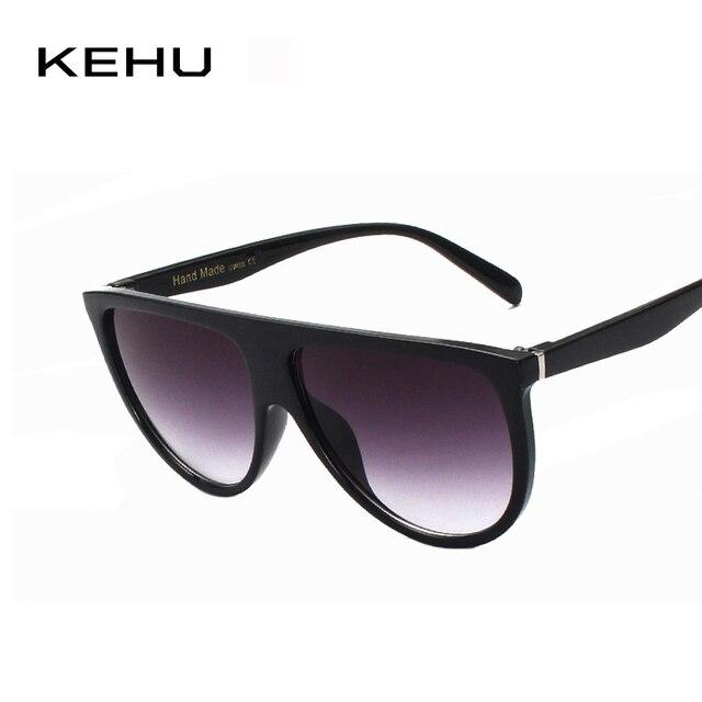 fe19d41a21 KEHU Fashion Sunglasses Women Luxury Brand Designer Summer Style Sun Glasses  Female Shades Big Frame Glasses K9057