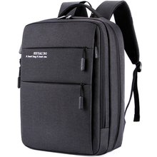 Men business backpacks ultra Large capacity Students schoolbags laptop Travel bags Multipurpose USB Oxford Pockets headphone bag
