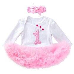 2 шт., тюлевые платья-пачки для девочек, с длинным рукавом