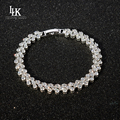New Top Quality Crystal Bracelet Shine Twinkle Charm Chain Bracelet Friendship Gifts to Friends Women Girl Fashion Fine Jewelry