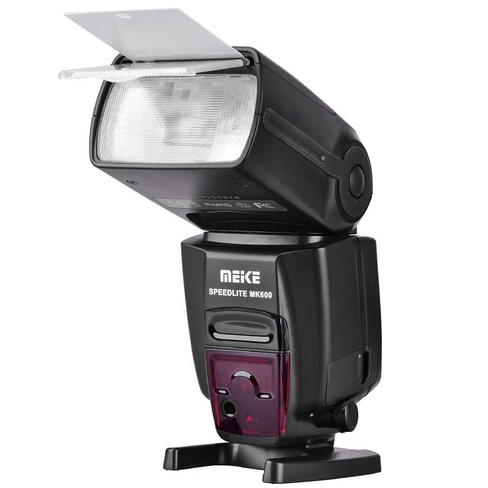 Meike MK-600 Flash Speedlite light with 1/8000s High-speed Sync for Canon 580EX II EOS 6D 60D 700D 5DIII 70D 5D2 VS YN-568EXII meike dslr camera built in 2 4g battery grip for canon eos 7d mark ii as bg e16