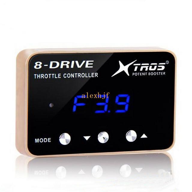 TROS Booster Potent sexta 8-Drive Controlador Electrónico Del Acelerador Para Audi VW Golf Passat CC Scirocco Jetta Skoda Asiento etc.