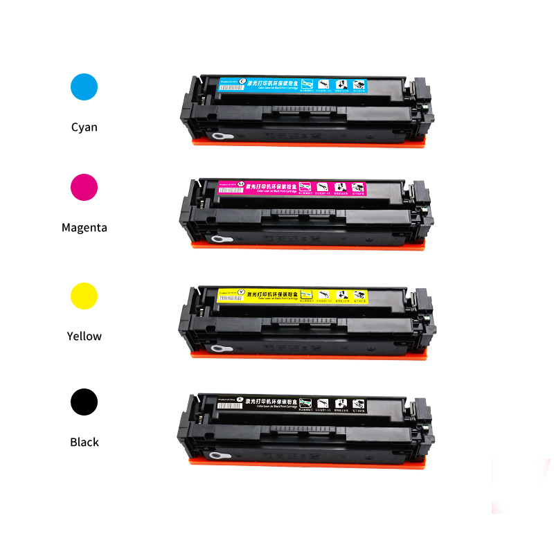 New hot 202 202a cf500a cf501a cf502a cf503a compatible cartridge toner for hp LaserJet Pro MFP M280nw / M281cdw printers hot for hp color lj m553n for hp 508x new compatible toner cartridge cf360a for hp mfp m552dn mfp m553n mfp m553dn mfp m553x