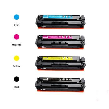 New hot  202 202a cf500a cf501a cf502a cf503a compatible cartridge toner for hp LaserJet Pro MFP M280nw / M281cdw printers