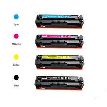 New hot For hp202 202a cf500a cf501a cf502a cf503a compatible cartridge toner for hp LaserJet Pro
