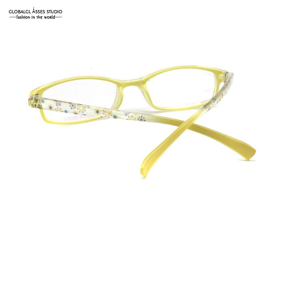 ᐃLuz Ultra Pequeno Forma Oval Plástico Lente Prescrição Óculos de ... 6f2ac58f03