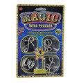 4pcs=1set, Metal Magic Wire Puzzles Toys,