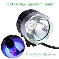 Wozniak Telefoon Reparatie Uv Lijm Uitharden Lichten Led Uv Licht Groene Olie Curing Usb Voeding 10 Seconden Uv lamp