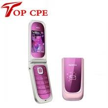 Rénové 7020 D'origine Nokia 7020 Déblocage Téléphones portables Bluetooth FM JAVA Livraison gratuite