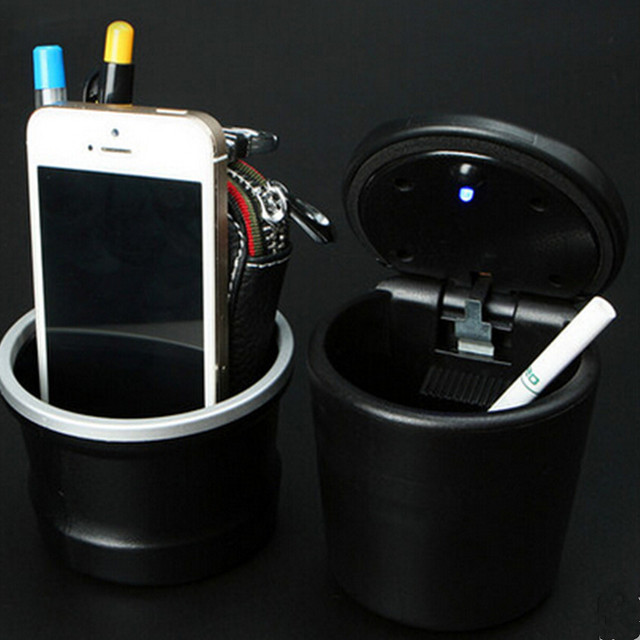 Car Ash Tray Ashtray Storage Cup With Led For Seat Leon