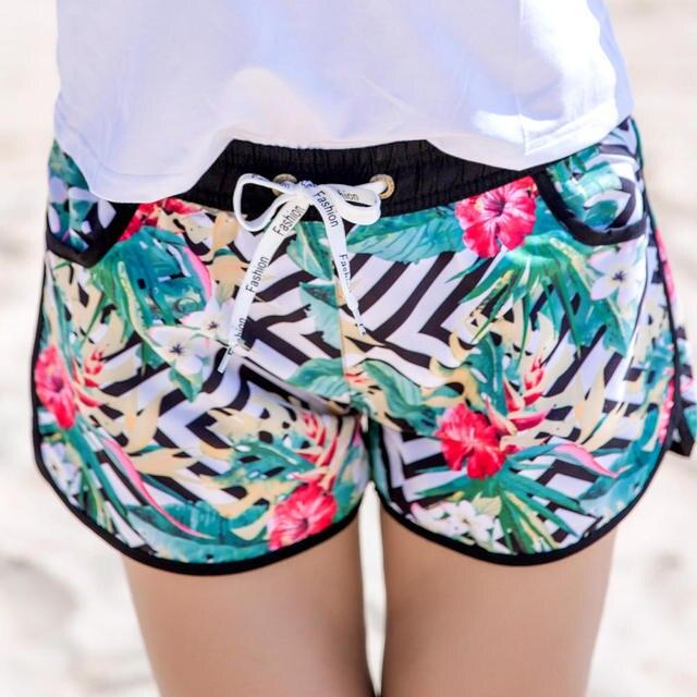 2018 New Summer Sea Board Beach Shorts Quick Dry Couples Swimwear Bermuda Surf Starry Women Short Men Swimming Shorts 9017-2