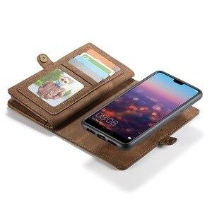 Image 3 - Luxury Leather Flip Case For Hawei mate20 p30 p20 pro lite Nova 4e 3e Funda Etui Wallet Phone Cover accessories shell Coque bags