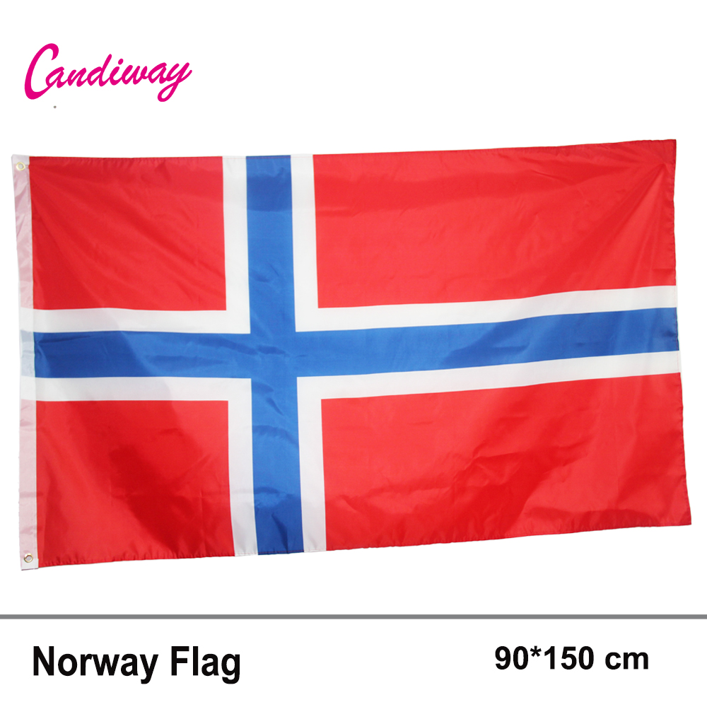 NORWAY Flag Norwegian Kindom Flags 3×5 FT European Country National Office/Activity/parade/Festival/Home Decoration New fashion