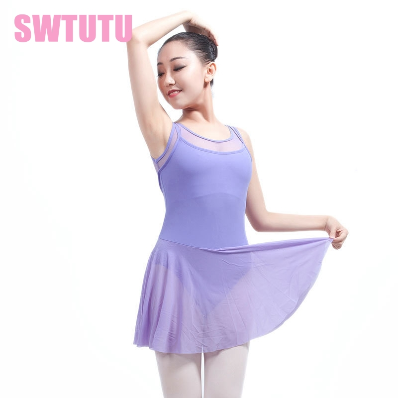 d193e9aff223 adult tank black mesh ballet leotard dancing dress lyrical dress  professional stage ballet clothes dress ML6031-in Ballet from Novelty &  Special Use on ...