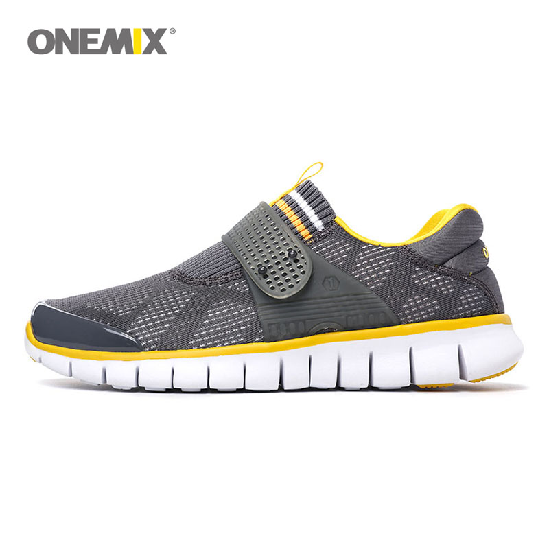 ONEMIX men running shoe summer cool athletic shoes breathable sneakers for women super light outdoor walking shoes for size36-45 пилинг wella sp clear scalp shampeeling