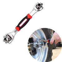 Tiger Wrench 8 In 1 Tools Socket Works With Spline Bolts Torx 360 Degree 6 Point Universial Furniture Car Repair 25cm Only Red|Wrench| |  -