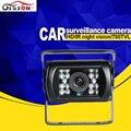 Sistema de aparcamiento de coches de visión trasera cámara con sony ccd ir a prueba de agua color del revés del coche cámara de reserva