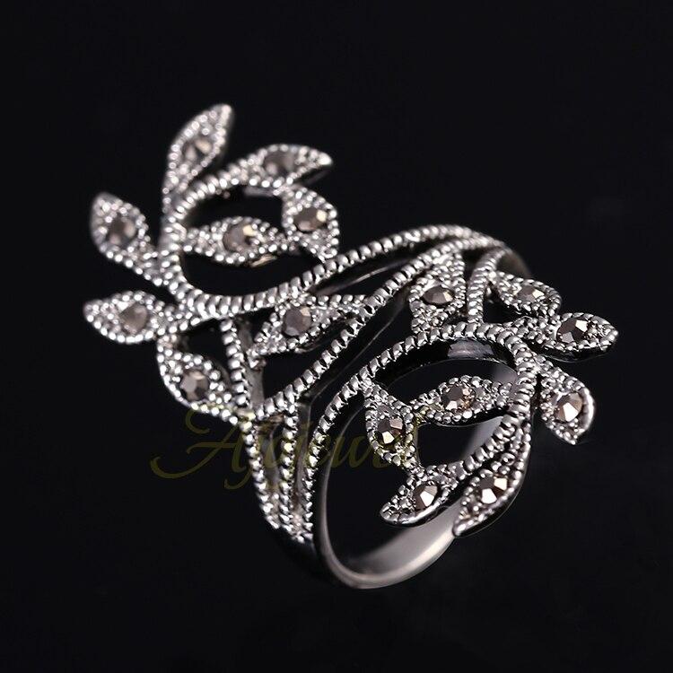 Ajojewel Marka Boyutu 6-9 Sıcak Satış Çinko Alaşım Siyah - Kostüm mücevherat - Fotoğraf 3