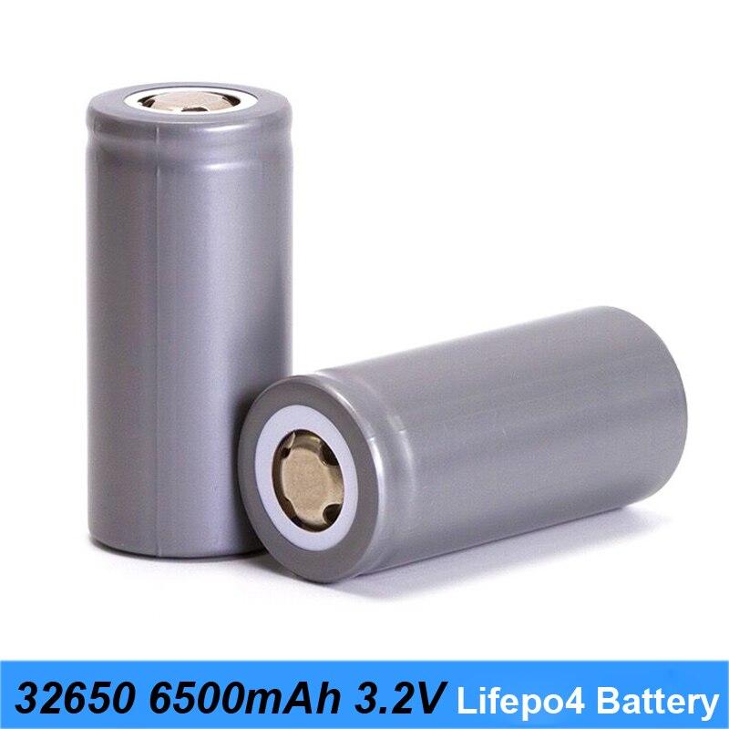 32650 chargeur de batterie 32650 lifepo4 3.2 v 6500 mah 33A 55A batterie de vélo de décharge et tournevis LED à piles lumières a22
