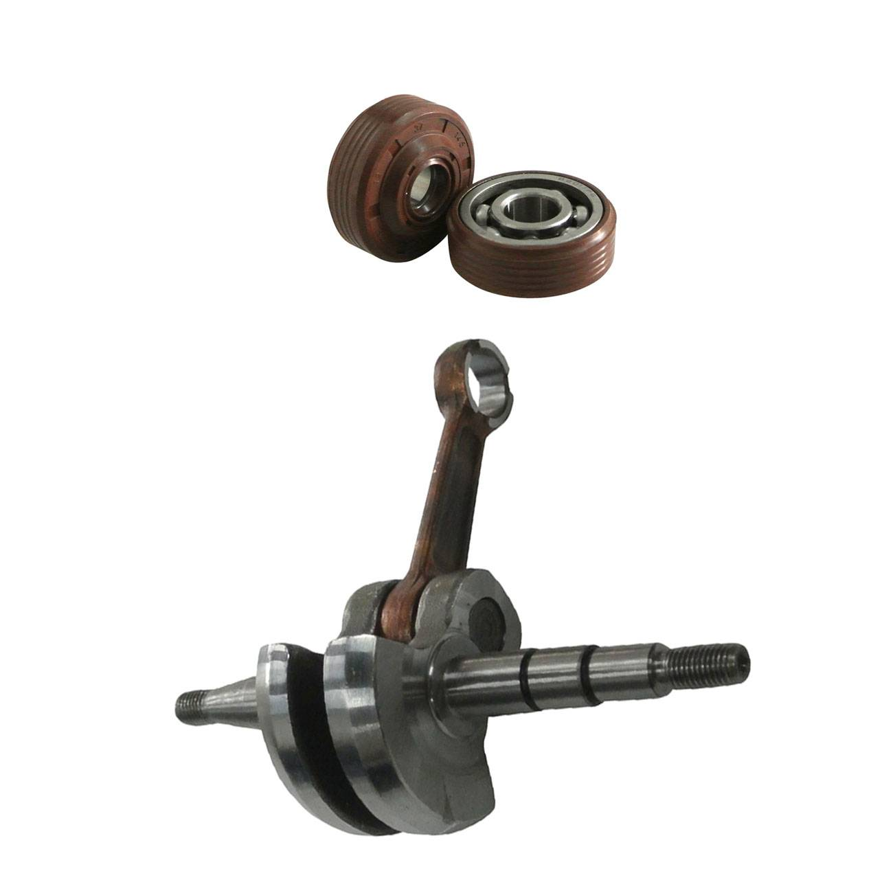 CrankShaft Complete With Bearings And Seals Fit 136 137 141 142 Chainsaw