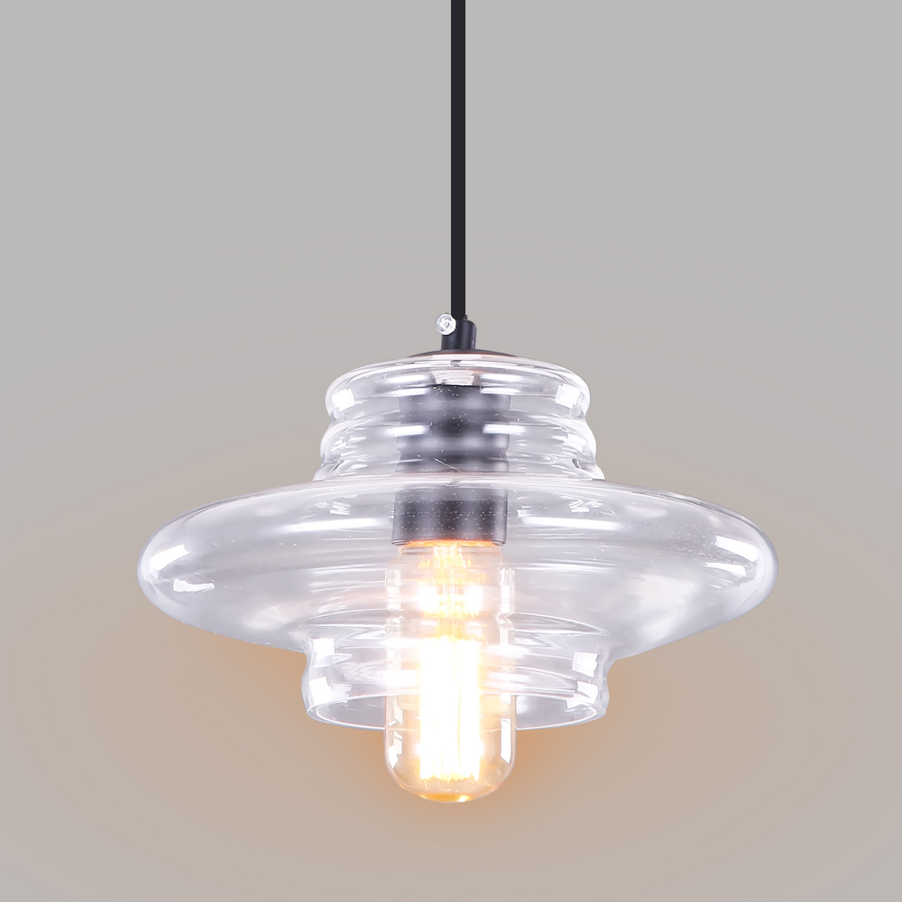 Modern crystal lamp pendant lamp led thread crystal for Modern island pendant lighting