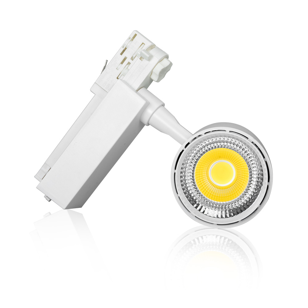 130LM/W COB 20W LED Track light 2/3/4 way Black/White/Silver/Grey Ceiling Rail Track lighting Spot Rail Spotlights AC220V db7191 dave bella summer baby girls newborn infant toddler jumpsuits children short sleeve printing clothing baby romper