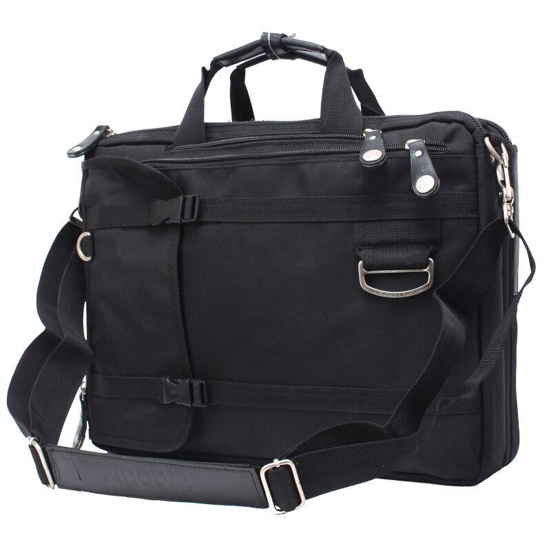 Laptop Bag 14 15 15.4 15.6 17 17.3 Inch Multifunction Briefcase Shoulder Bag Handbag Waterproof Nylon Men Bag Travel Bag