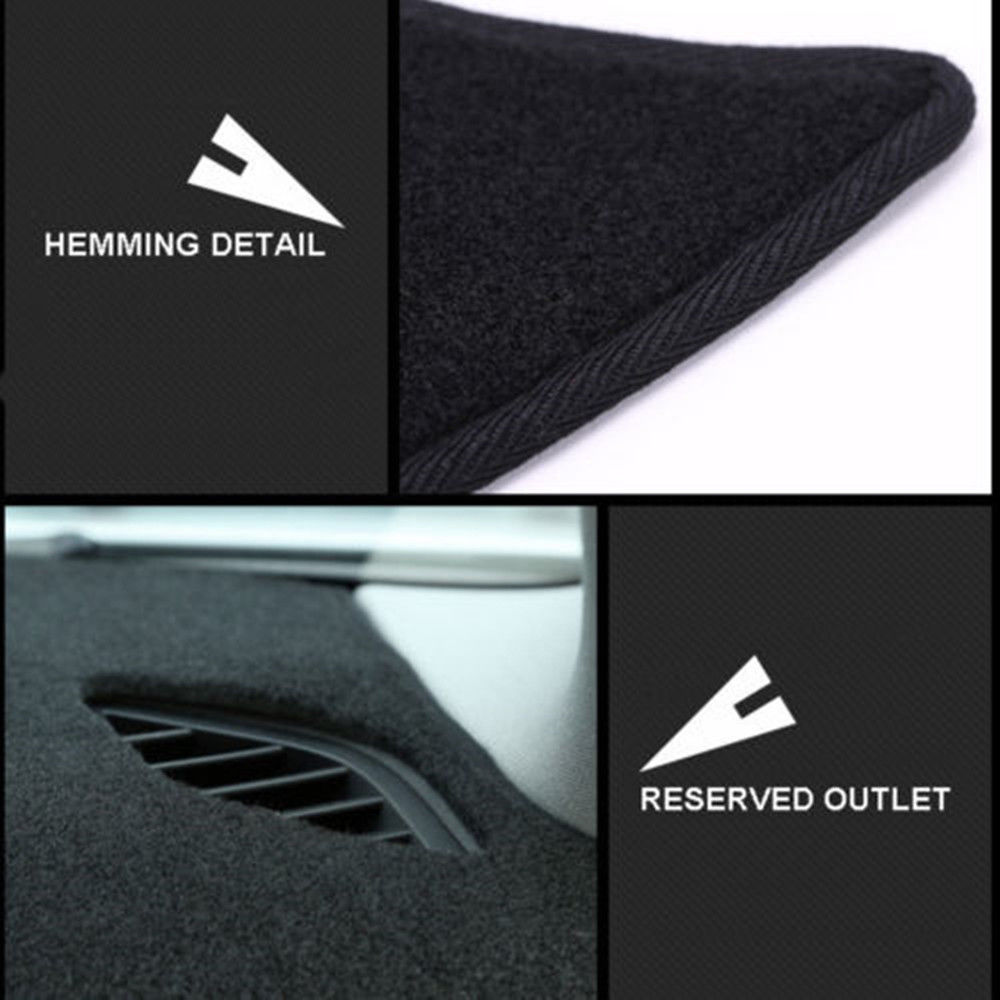 Anti-UV Dashboard Cover Mat Pad Sun Shade Instrument Panel Dashmat Carpet For Honda HRV HR-V Vezel 2014-2018 Car Accessories RHD