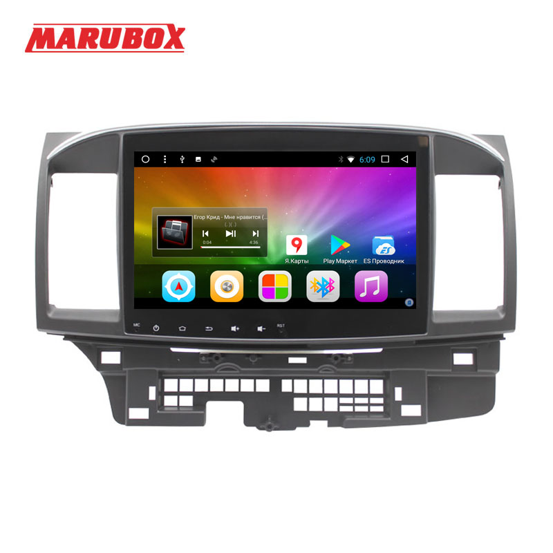 MARUBOX 10A716DT8 Car Multimedia Player for Mitsubishi lancer 8 Core Android 8 1 DVD GPS Radio