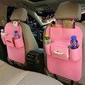 Mutifuction titular organizador do assento de carro de volta saco de covers dust-proof crianças kick mat protege da lama sujeira à prova d' água carro-cover