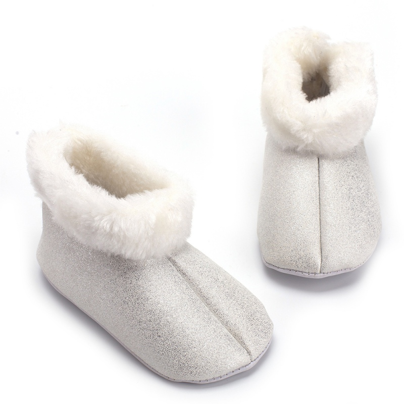 Baby Shoes Flower-Boots First-Walkers Bebe Newborn Toddler Infant Winter Kids Cute Crib