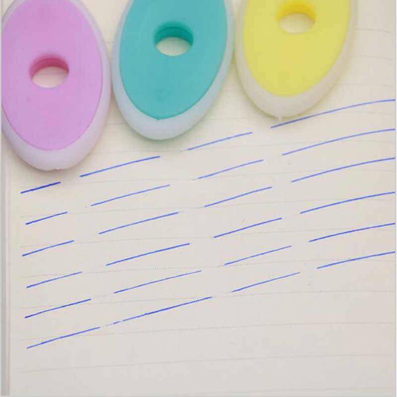 2Pc/Temperatur Kontrol Oval Gesekan Karet Pena Khusus Sihir Karet Alat Tulis Kantor