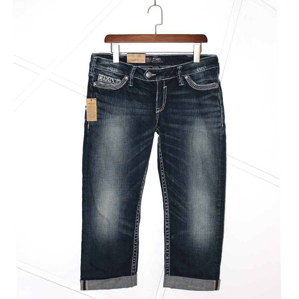 Online Get Cheap Silver Jeans Capri -Aliexpress.com | Alibaba Group