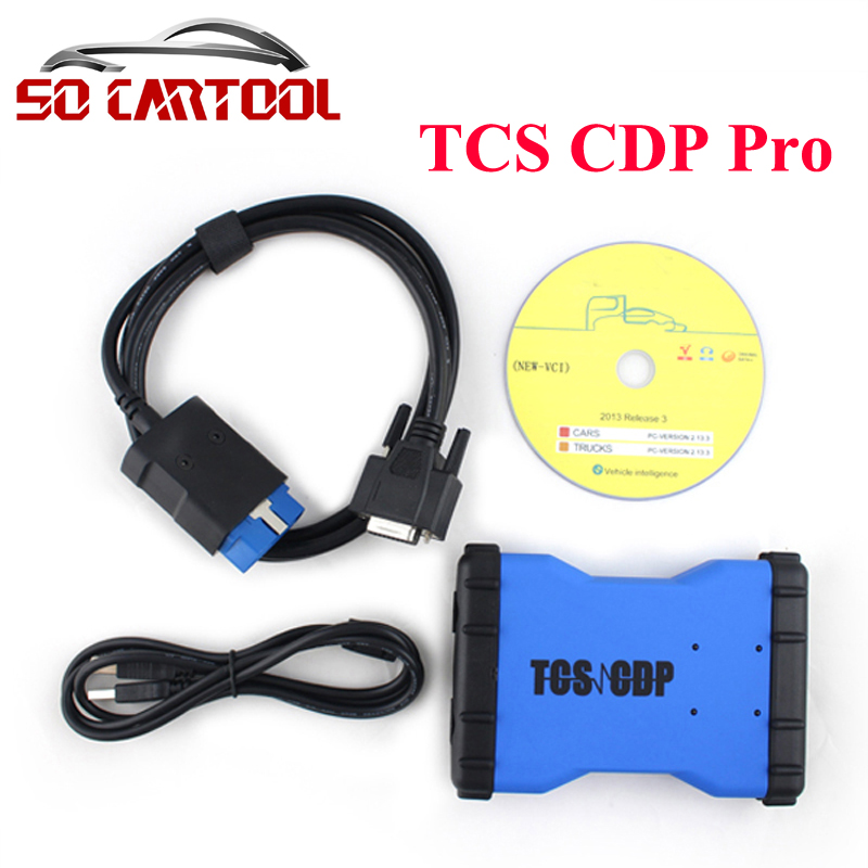 (10PCS/LOT) 2014.R2/2015.R1 Software TCS CDP Pro new vci cdp without bluetooth for Cars/Trucks + Carton box by DHL Free new arrival new vci cdp with best chip pcb board 3 0 version vd tcs cdp pro plus bluetooth for obd2 obdii cars and trucks