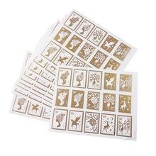 150 Pcs/lot Girl And Deer Stamp Styling Seal Sticker DIY Multifunction Stickers Gift Packaging Label Scrapbooking