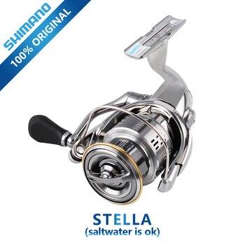 SHIMANO-Carretes de pesca STELLA 1000/2500/3000, carrete de pesca giratorio x-ship, carrete de...