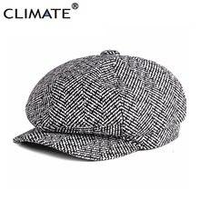 El clima cálido octogonal sombrero Stroped de lana de algodón de mujer de  moda de invierno 955789c12aa