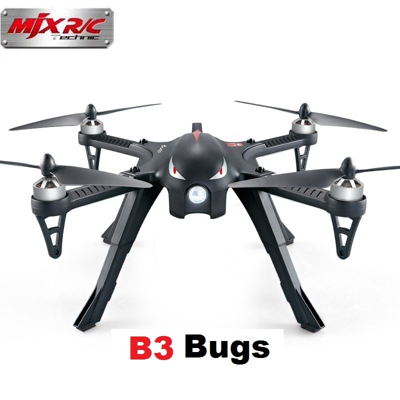 все цены на  MJX R/C Technic Original B3 Bugs 3 RC Racing Drone with Brushless Motor Camera Mounts Two-way 4CH Professional Remote Contro  онлайн