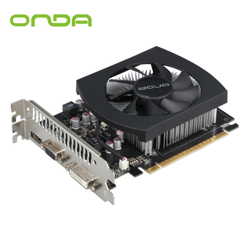 Original Onda GTX750Ti 4G GDDR5 128bit Graphics Card With