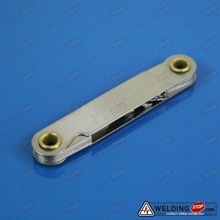 цена на Screw pitch gage 60 degree Stainless Steel Metric Thread gauge