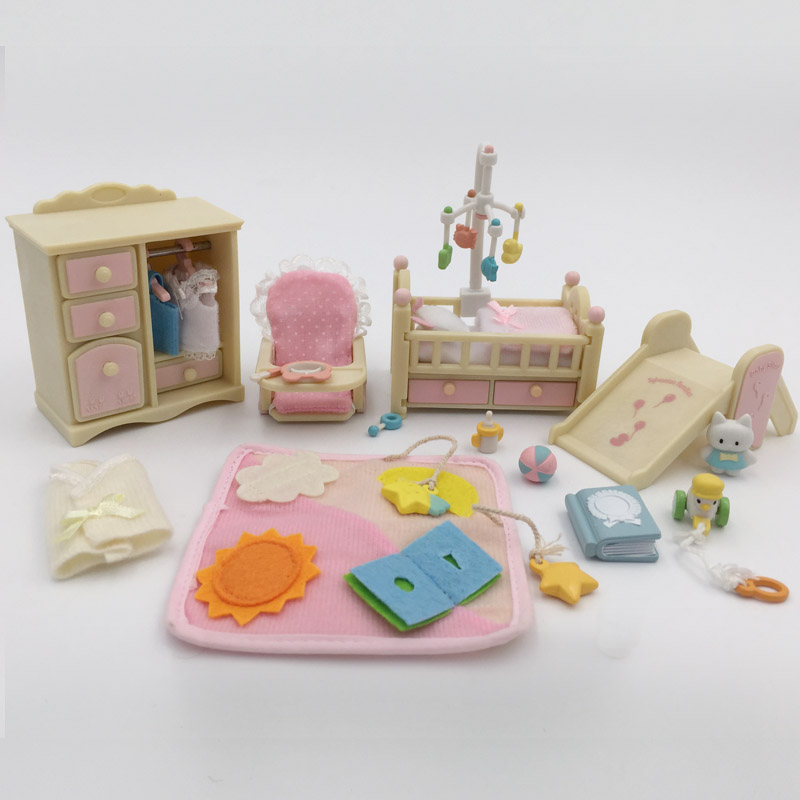 Play house toys baby room baby bedroom suite for forest animal