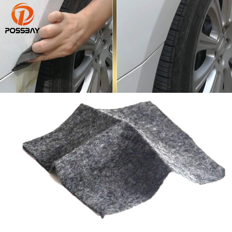 POSSBAY <font><b>Car</b></font> Repair Rags <font><b>Car</b></font> Scratch Polish Cloth for <font><b>Car</b></font> <font><b>Light</b></font> Paint Scratches Remover Scuffs on Surface Repair Paint <font><b>Cleaner</b></font> image