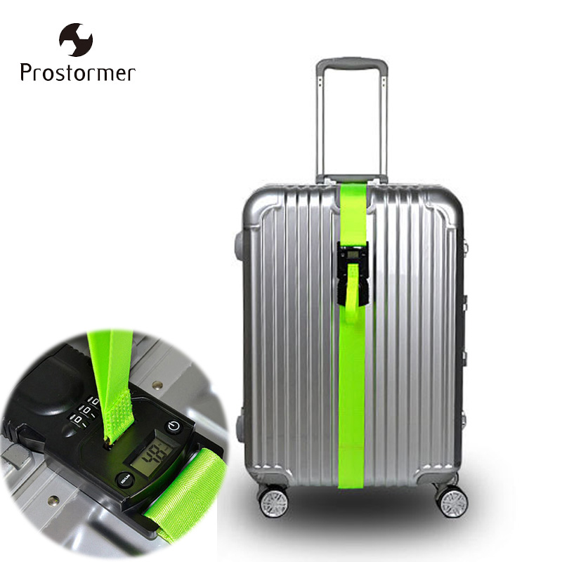 b483807c0a7e US $15.99 |Prostormer Travel Luggage Scale Code Lock Suitcase Strap Belt  Digital Hanging Baggage Weigh Scale D0302-in Weighing Scales from Tools on  ...