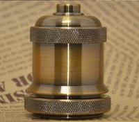 E26 E27 Electroplating aluminum lamp holder lamp holder restoring ancient ways of pure aluminum lamp bases fashion lamp socket