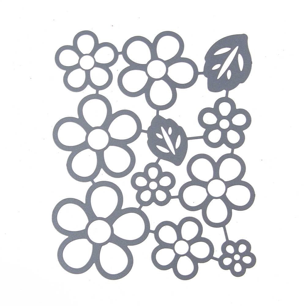 Małe płatki umiera Scrapbooking New Arrival Valentine metalowe wykrojniki nowe 2020 wytłaczanie rękodzieło nowe wykrojniki