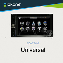 2 Din Car DVD GPS For universal cars with size 172 * 98mm Touch Screen Radio Stereo Multimedia bluetooth Steering wheel