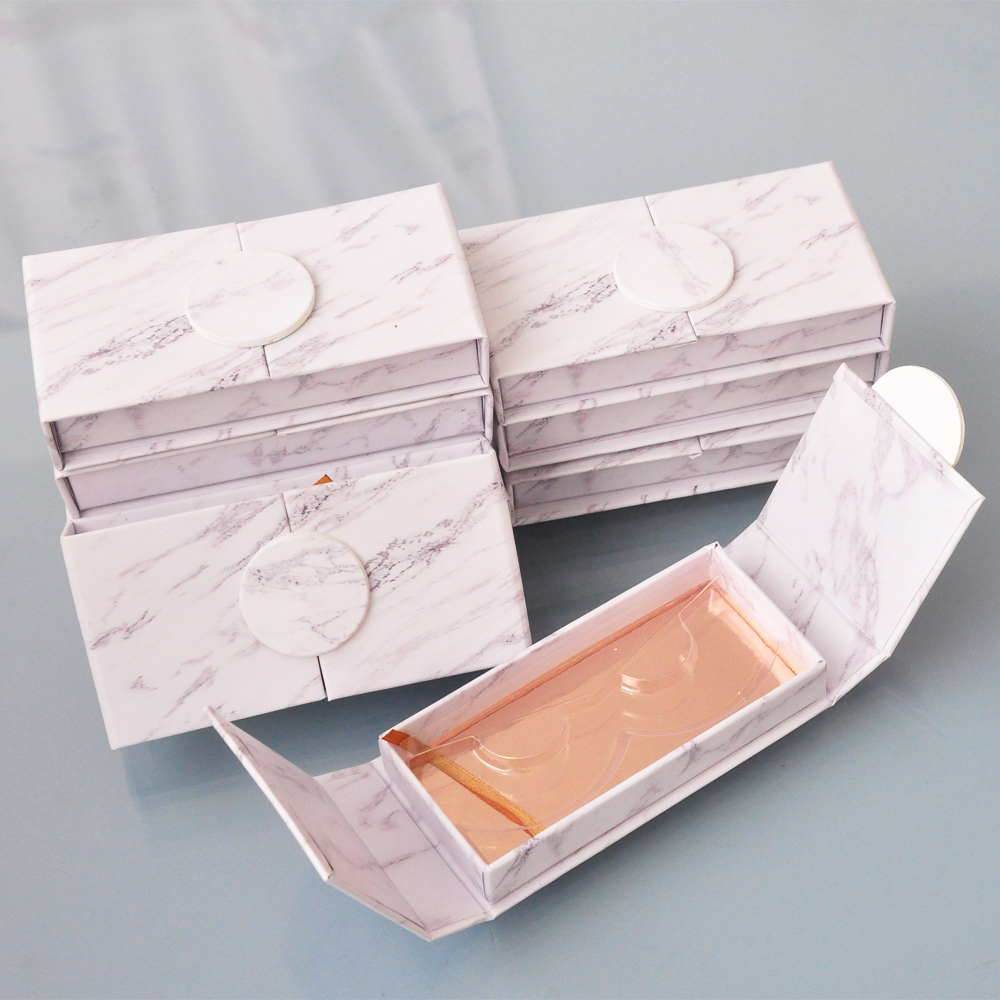 Image 5 - wholesale false eyelash packaging box lash boxes packaging custom your logo faux mink eyelashes strip lashes case empty  vendors-in False Eyelashes from Beauty & Health
