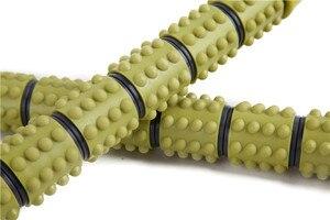 Массажная палка для мышц, массажный вал, поролоновый вал, глубокая мышечная фасция, релаксация, фитнес-палка, ролик