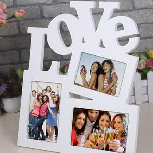 feiqiong Love Wooden Photo Frame Picture Frame Home Decor